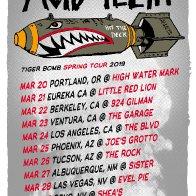 Tiger Bomb Spring Tour