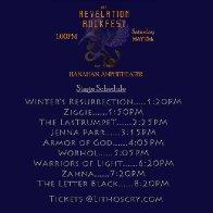 Rockfest Schedule