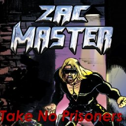 Zac Master The Rock SuperHero